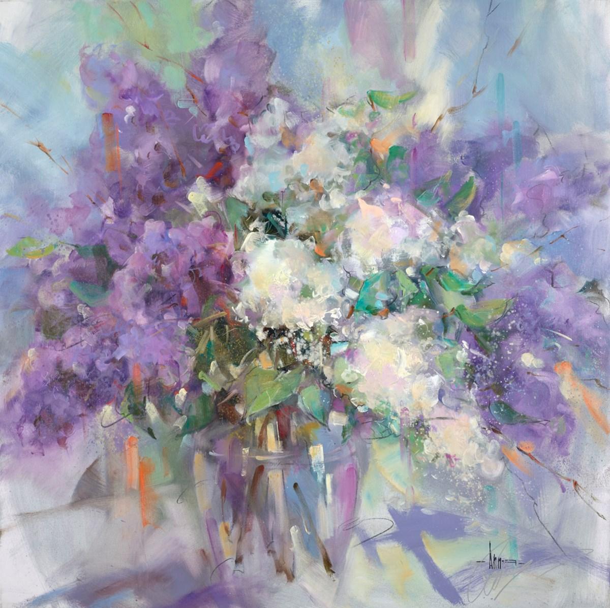 Lilac Blossoms I